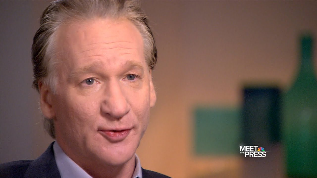 bill maher meet the press interview with david