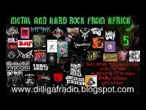 The Metal & Hard Rock From Africa Show Episode 5 Part 2