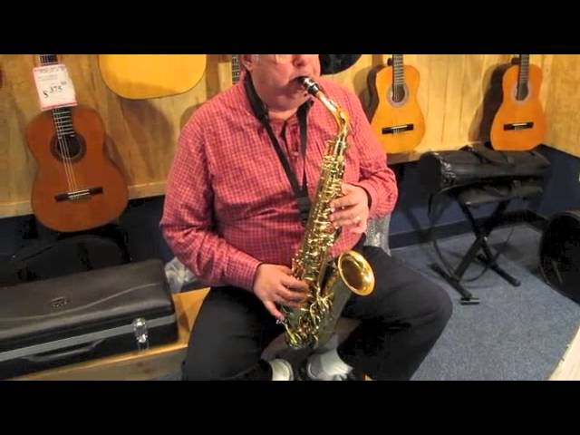 Conn Selmer Prelude As700 Alto Sax Youtube