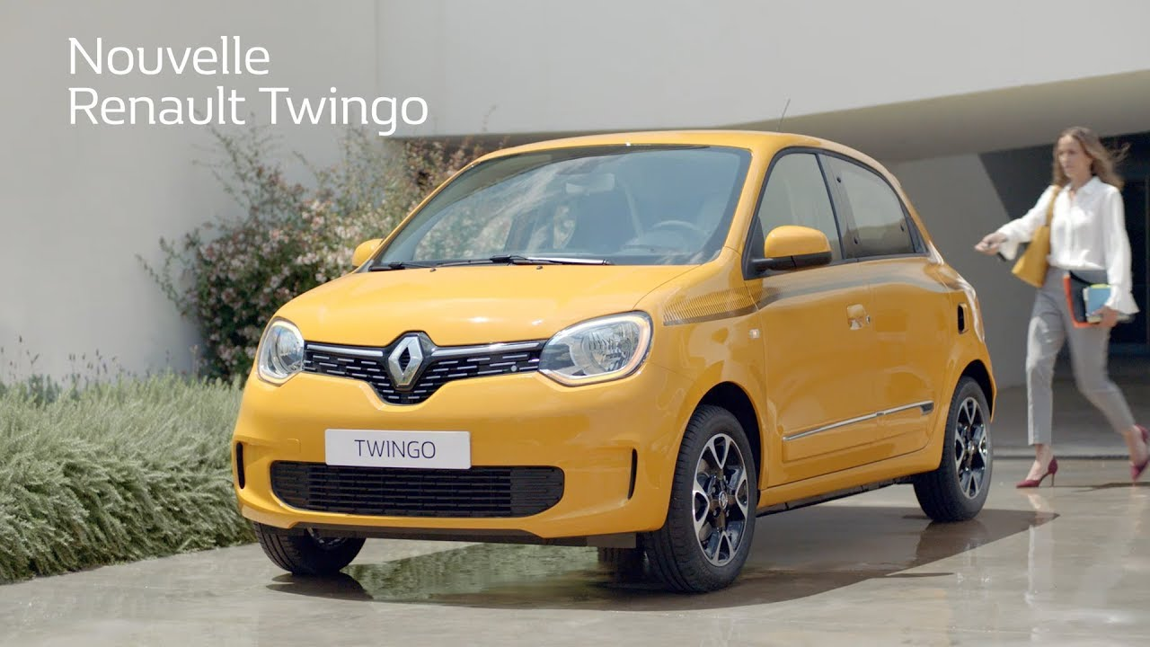 2019 Renault Twingo Francais French Youtube