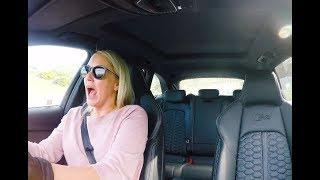 Juliet drives the new Audi RS4 Avant