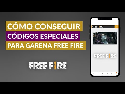 Dónde y Cómo Puedo Conseguir Códigos Especiales para Garena Free Fire