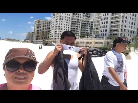 CLEARWATER BEACH, FL TOUR!!!
