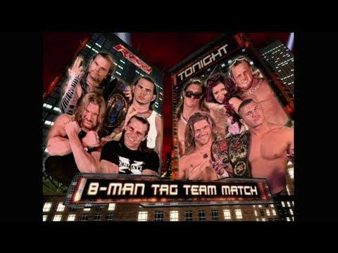 WWE Raw 04/12/2006 Rated RKO & MNM Vs The Hardy Boys & DX [HD-720p] [Español Latino] By Omar & Raul