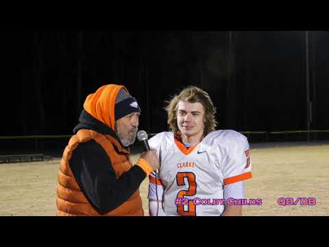 Clarke County Sports Post Game Show 11 8 2019