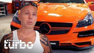 ¡Convierten Mercedes-Benz desechado en un deportivo de lujo! | Chatarra de oro | Discovery Turbo
