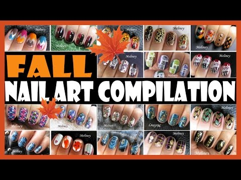 Download FALL NAIL ART COMPILATION | MELINEY HOW TO THANKS GIVING AUTUMN DESIGN TUTORIALS