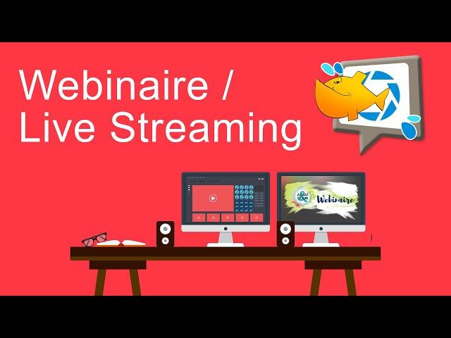 #webinaire & #LiveStreaming selon Pixel de Mer #vidéo #professionnelle #Vannes #Pluvigner #Lorient