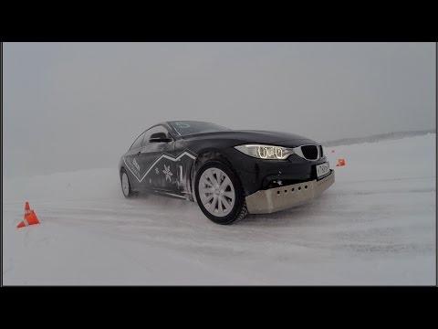 BMW - школа X-drive. Купили себе машину на новый год