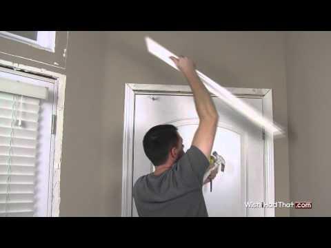 Removing Door Trim Molding In 60 Secs