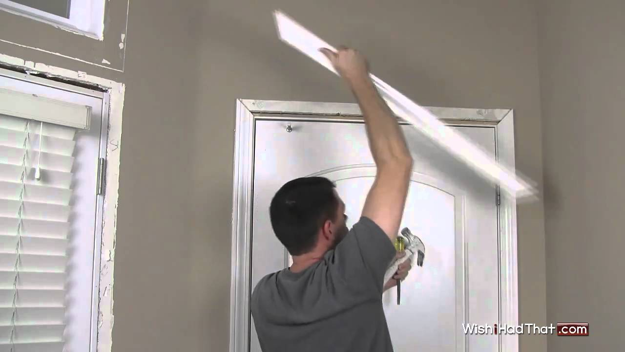 Doorway Trim Molding Removing Door Trim Molding In 60 Secs Youtube