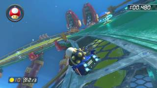 Ice Ice Outpost - 1:44.612 - 4Anh (Mario Kart 8 World Record)