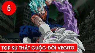 Top sự thật về chiến binh Vegito trong Dragon Ball