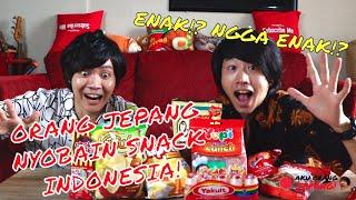 Coba snack Indonesia sama Genki-san!