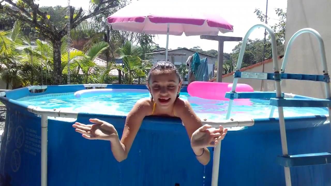 Vlog brincando na piscina 2!