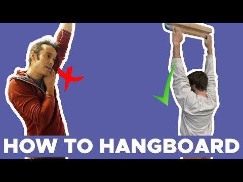 How to Hang Board + Building POWER in your climbing || Ft Tom Randall
