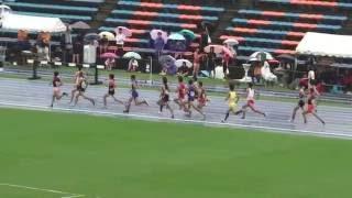 2016 茨城県高校新人陸上 男子1500m決勝