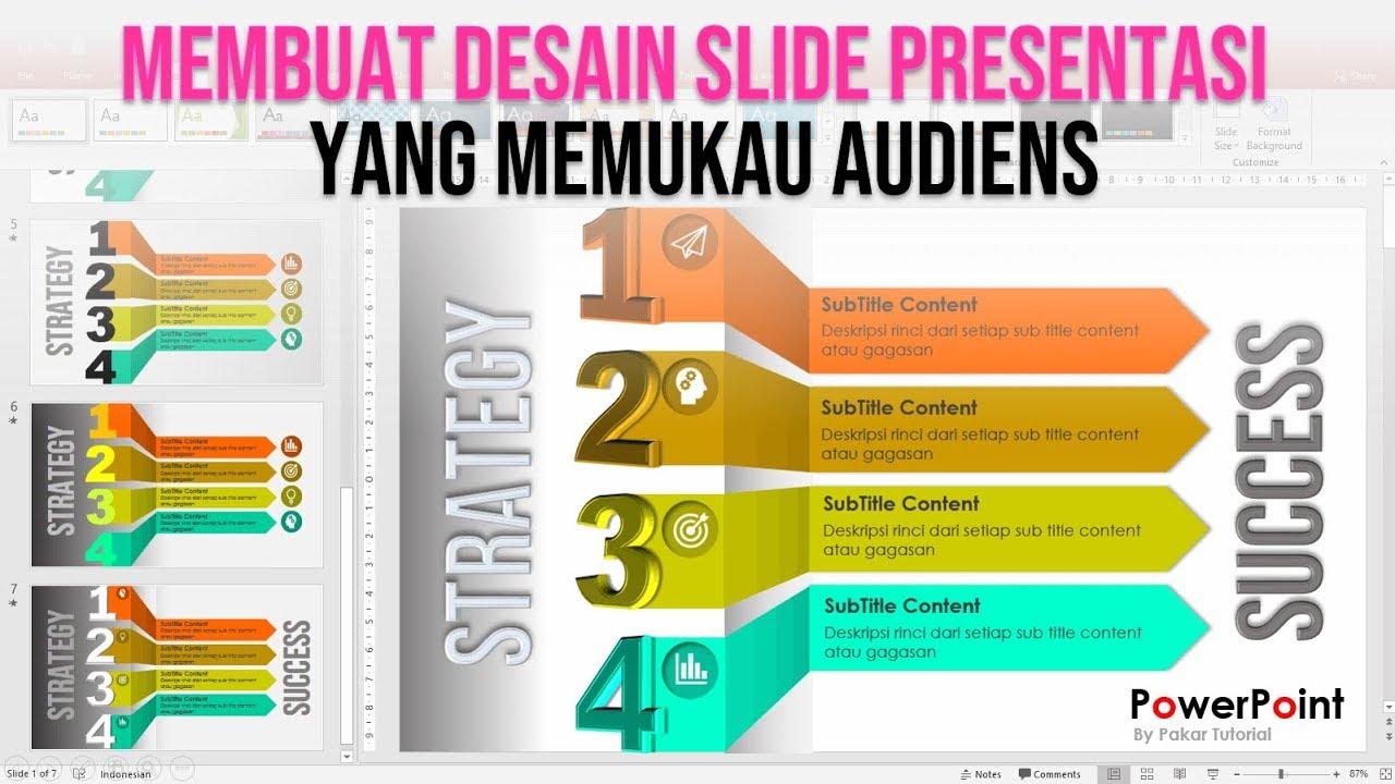 Cara Membuat Slide Presentasi Powerpoint Yang Menarik