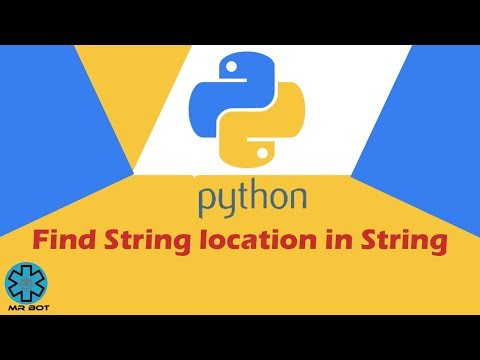 How to Find String in String Python Tutorial In Hindi thumbnail