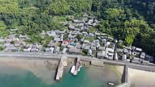 人口9人、平均年齢約85歳の芸予諸島「津島」をドローンで空撮!