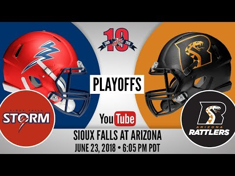 2018 IFL Playoffs | Sioux Falls Storm at Arizona Rattlers