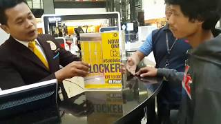 How to rent Locker in fX Sudirman