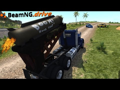 BeamNG.drive - MISSILE TRUCK