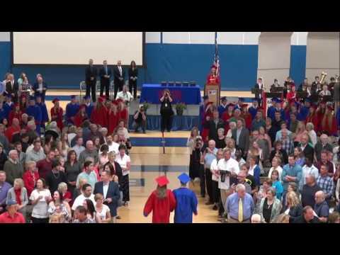 Northland Pines High School Class of 2016 Graduation