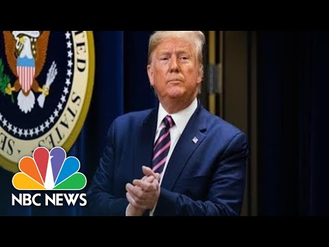 Trump Signs Defense Bill Authorizing Space Force, Parental Leave | NBC News (Live Stream Recording)