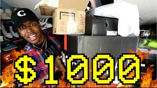 OVER $1000 WORTH OF NEW PICKUPS!!! Exclusive Collabs, Supreme, & MORE