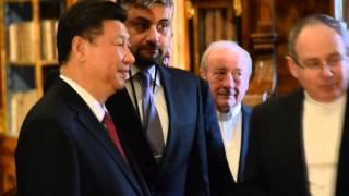 ParlamentníListy.cz: Zeman s čínským prezidentem u piva ve Strahovském klášteře