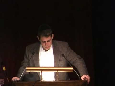 59th University of Chicago Hillel Latke-Hamantash Debate 2005 (Eugene Kontorovich Part 1)