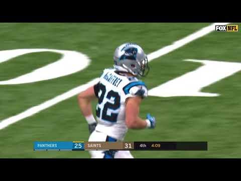 Christian McCaffrey 56 Yard TD | Saints vs. Panthers | NFC Wild Card Game | NFL