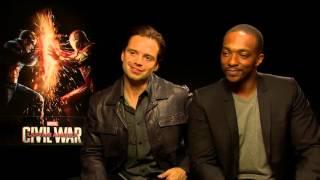Sebastian Stan & Anthony Mackie on who