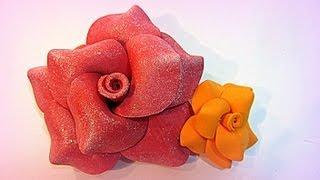 Tutorial: Flores de goma eva (foami).