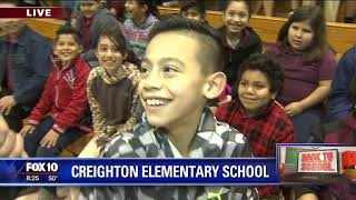 Back to school: Creighton Elementary School