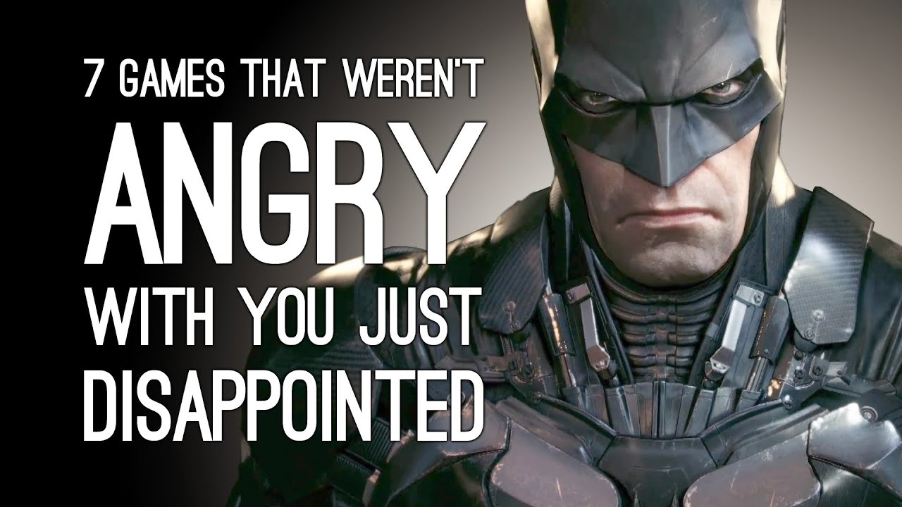 7 Times the Game Wasn't Angry It Was Just Disappointed