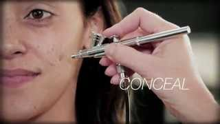 Gambar cover How to Use Airbrush for Flawless Makeup Application - KETT Airbrush Level 1 - musebeautypro