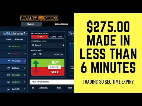 ⭐️how to trade 30 second binary options