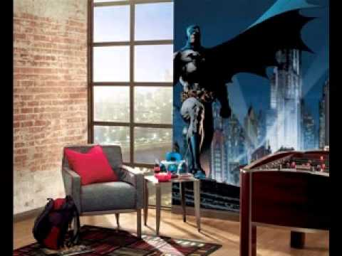 Batman bedroom interior design decorating ideas