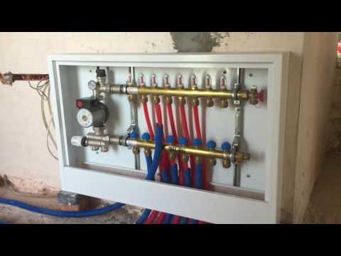 Монтаж отопления в доме под ключ