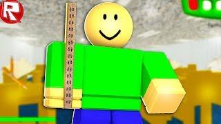 КАК Я ПРЕВРАТИЛСЯ В УЧИТЕЛЯ БАЛДИ В ROBLOX для детей Приключения от Игровой Летсплей в РОБЛОКС