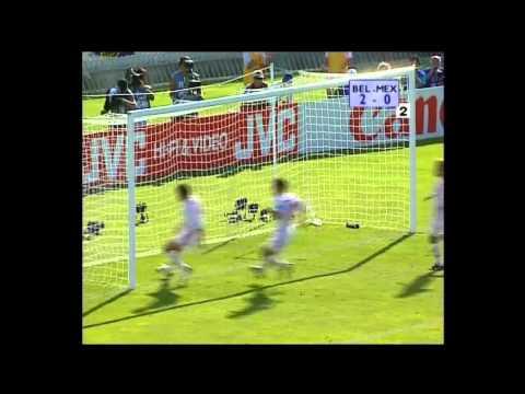 World Cup 1998 Belgium Vs Mexico