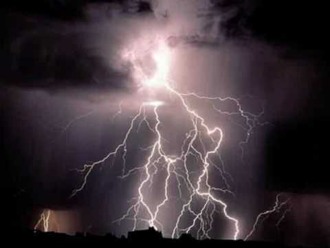 Pax Deorum...(music by Enya)  to pictures of cool lightning strikes.