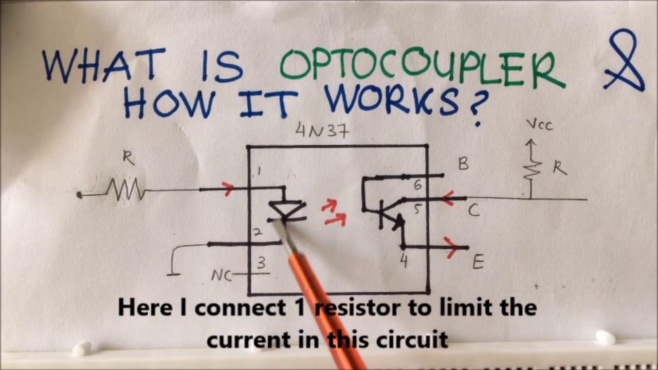 Opto Coupler Youtube Isolator Circuit