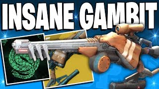 Destiny 2 - Full Gambit Squad Wipe In 5 Secs / BEST GAMBIT CLUTCHES EVER - Top 5 Gambit Plays / Ep88