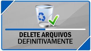 Como deletar arquivos do seu computador definitivamente ( SEM DEIXAR RASTROS )