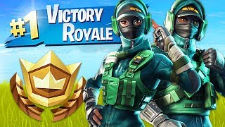 Winning in Squads! // Pro Fortnite Player // 2000 Wins (Fortnite Battle Royale Gameplay)