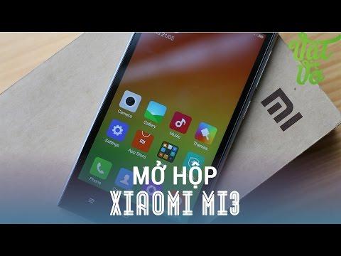 Vật Vờ - Mở hộp & đánh giá nhanh Xiaomi Mi3: hơn 4tr Snapdragon 800, 2GB RAM