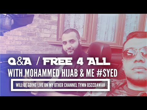 LIVE Q&A WITH MOHAMMED HIJAB & SYED #OSCC